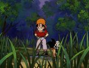 Goku Pan i Gill na planecie Kelbo (DBGT, odc. 007)