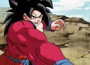 Son Goku; Xeno SSJ 4 (1) (SDBH, odc. 001)