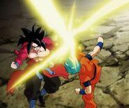 Goku; Xeno vs. Goku (1) (SDBH, odc. 001)