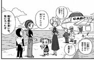 4. Powrót na wyspę (37) Profesor Brief z żoną i z córką
