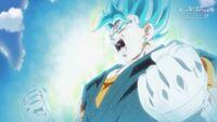 Vegetto Super Saiyanin Blue (SDBH, odc. 002)