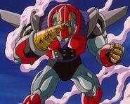 Rild po wchłonięciu Super Mega Cannon Σ