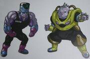 Sztuczni ludzie numer 8000 i 19000 (Dragon Ball Online)