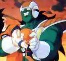 Dore trzyma Goku