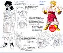 Koncept Brolly'ego narysowany przez Toriyamę (Daizenshuu 6)