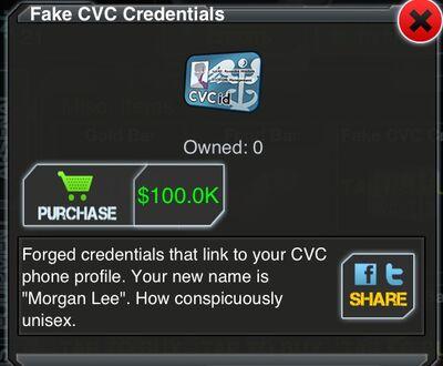 CVC Card