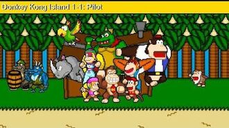 Donkey Kong Island 1-1- DKI Pilot