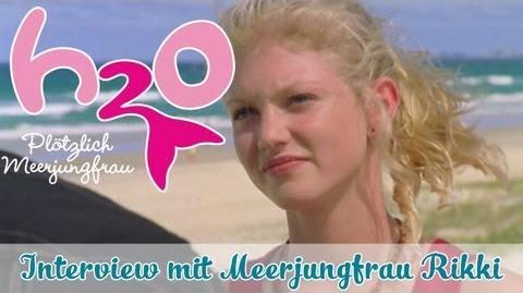 Interview mit H2O Meerjungfrau Rikki H2O - PLÖTZLICH MEERJUNGFRAU offizieller Fankanal-0