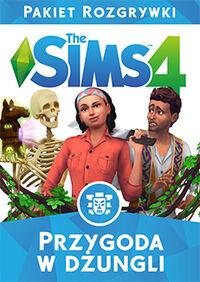 The Sims 4 Przygoda w dżungli okładka