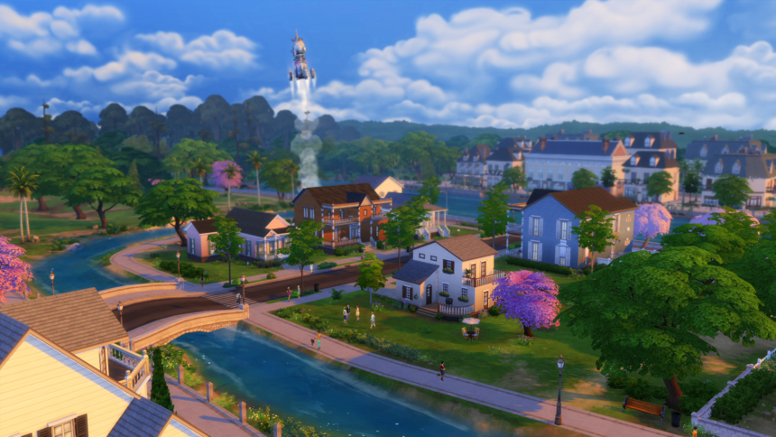 Willow creek view