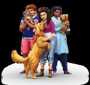 The Sims 4 Psy i koty render 1