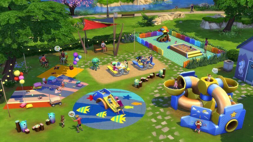 The Sims 4 Małe dzieci 4