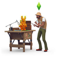 TS4 Przygoda w dżungli - render 4
