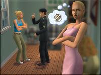 Lilia Kamasz w The Sims 2