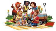 TS4 Małe dzieci - render