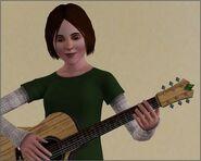 River gra na gitarze