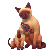 The Sims 4 Psy i koty render 2