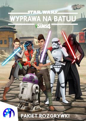The Sims 4 Wyprawa na Batuu okładka