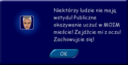 Zbulwersowana Stanisława - komunikat