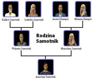 Rodzina Samotnik