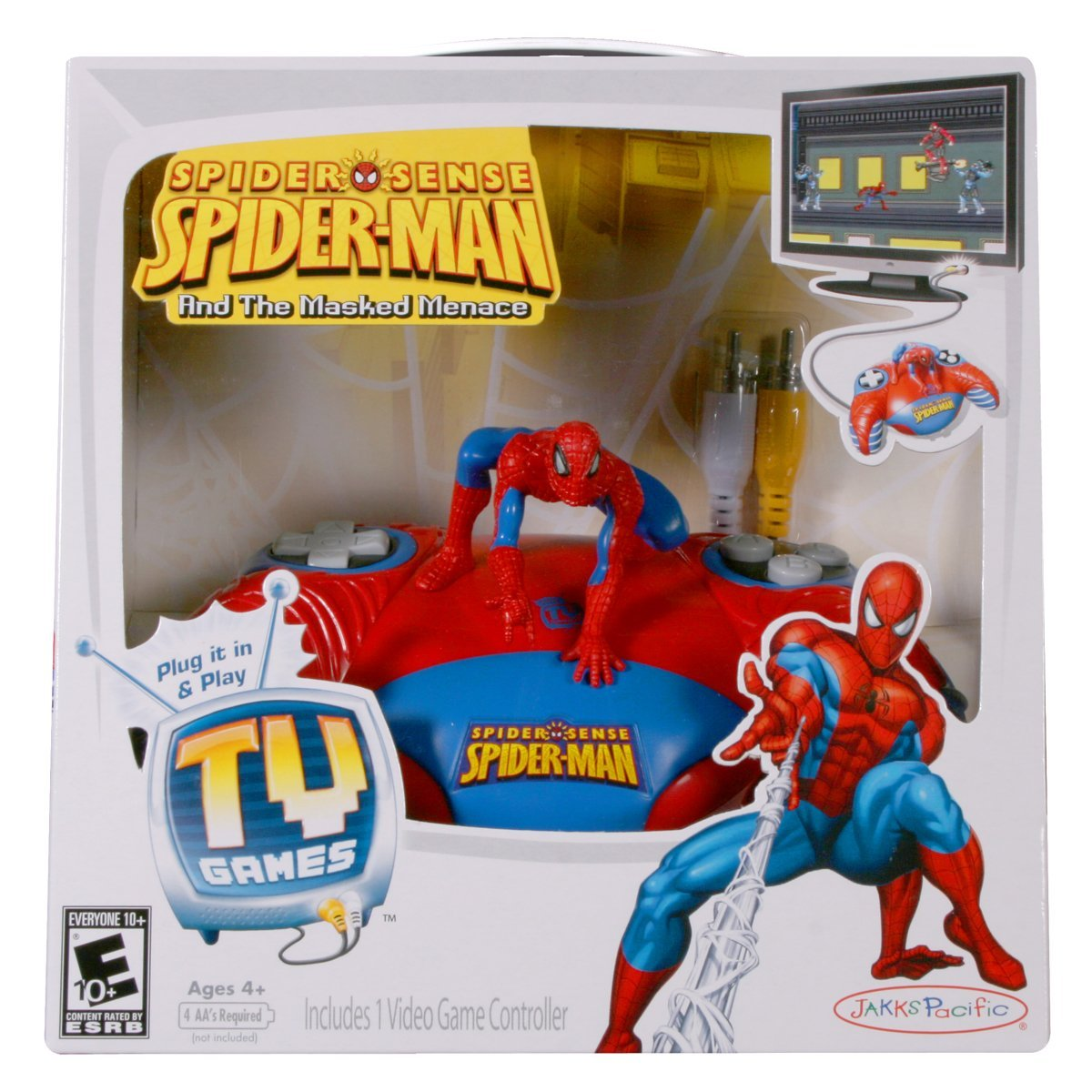 Tv Games Plug And Play : Spider man and the masked menace plug play tv games