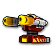 Blaster flame C icon