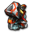 Torpedo blob D icon
