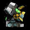Torpedo blob E icon