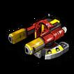 Blaster flame B icon