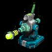 Laser wave C icon
