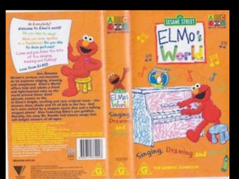 Elmo S World Singing Drawing And More Plush React