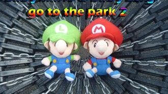 Baby Mario & Baby Luigi go to the park (Part 2 3)