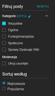 Kategorie dyskusje