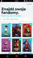 Android FANDOM app - topic selection.png