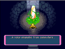 Luminous cave's voice