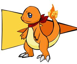 Mystery Dungeon Charmander by Iron Zing