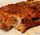 Oven Baked Parmesan-Crusted Tilapia