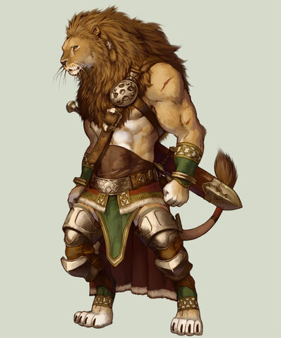 Lion warrior by koutanagamori-d3c0mhi