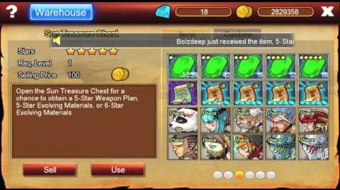 Opening 107 Sun Chests