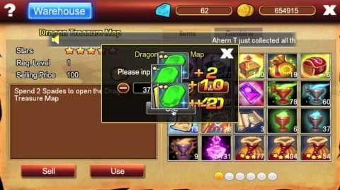 Pocket knights Opening 107 Dragas Treasure Maps