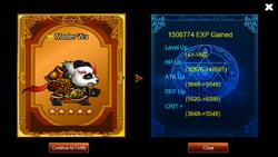 Panda Leveling