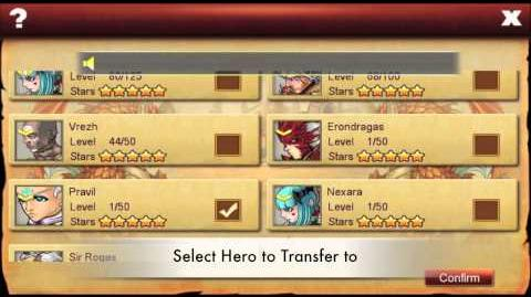 Tutorial How To Transfer Heroes