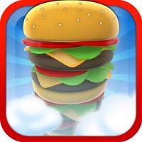 Sky Burger Game Logo