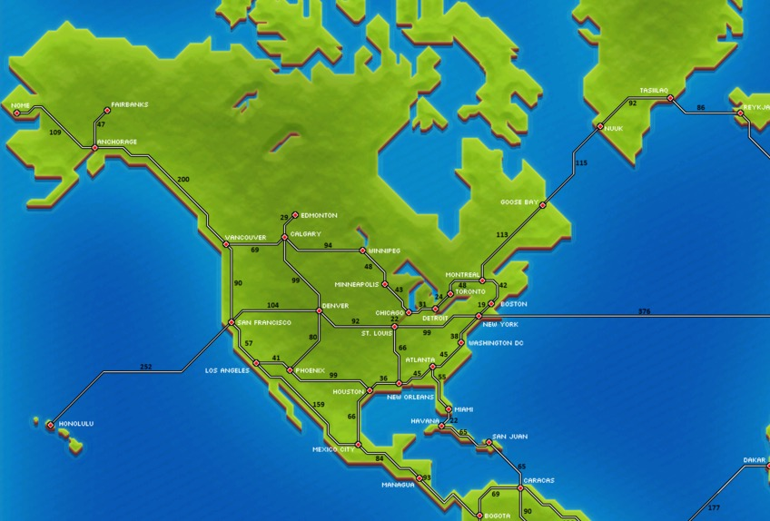 Calgary Canada Map Of North America.North America Pocket Trains Wiki Fandom Powered By Wikia