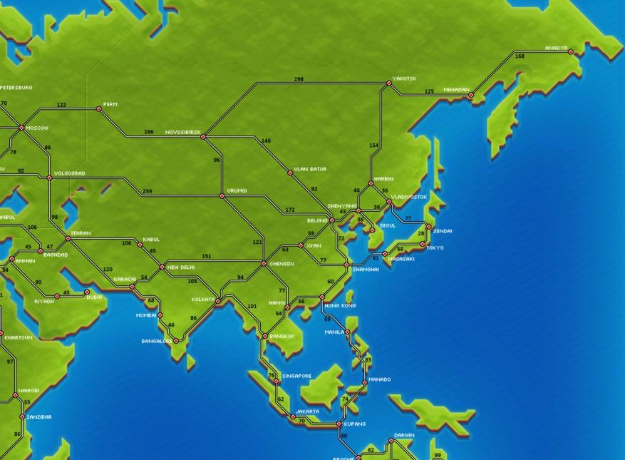 Map Of Asia Jakarta.Asia Pocket Trains Wiki Fandom Powered By Wikia