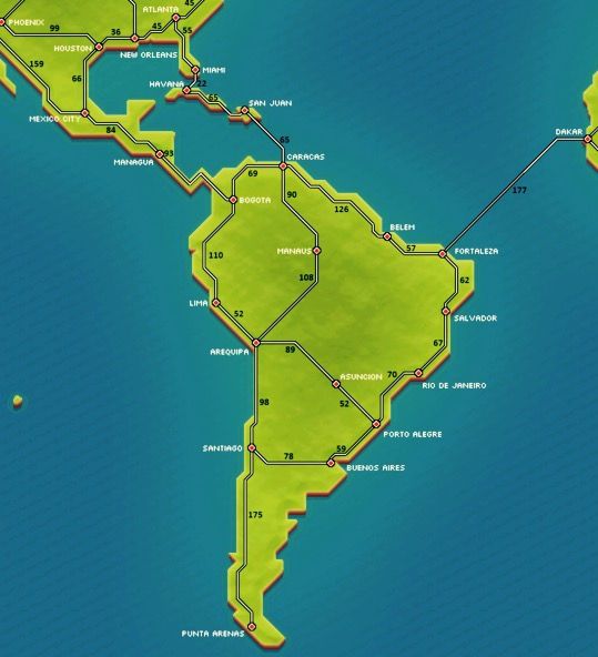 South America | Pocket Trains Wiki | FANDOM powered by Wikia