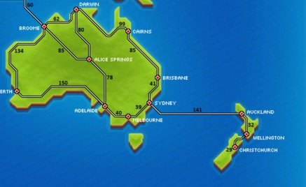 Oceania | Pocket Trains Wiki | FANDOM powered by Wikia