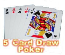 No-deposit-5-card-draw-poker