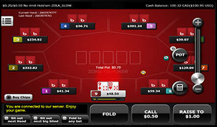 Ignition-mobile-fast-fold-poker-screenshot