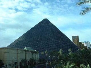Luxor outside